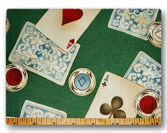 Card Games - Fabric By The Yard