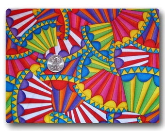 Colorful Fans - 18 inches x 42 inches