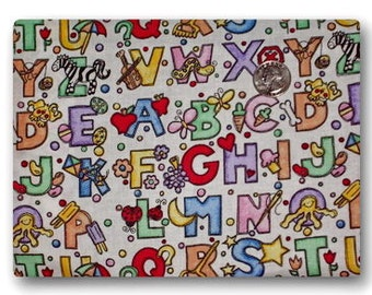 Now You Know Your ABC's - Fabric By The Yard