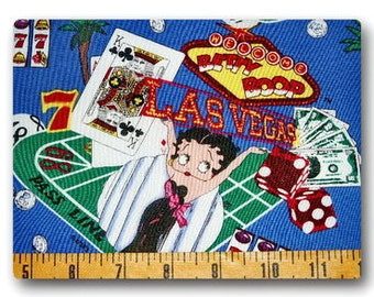 FQ Rare OOP Betty Boop Las Vegas VHTF 18 inches x 22 inches