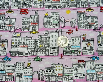 Mini Main Street by Timeless Treasures - Fabric By The Yard