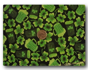 St. Patrick's Day Green Beer - Fabric By The Yard