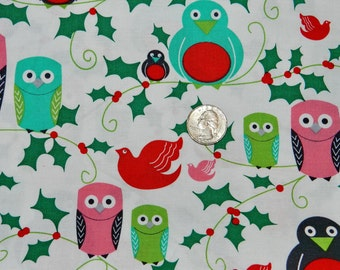 Ho Ho Hoot - Fabric By The Yard - H
