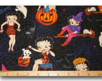 FQ Rare OOP Halloween Betty Boop VHTF 18 inches x 22 inches