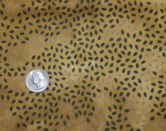 Brown Rice Batik - Fabric By The Yard 18 inches x 44 inches