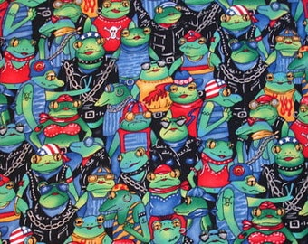 FQ Very Rare OOP Biker Frogs VHTF