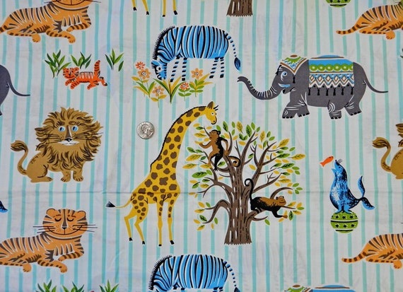 LAST PIECE 1/2 yard Retro Escapees - Fabric By The Yard - H