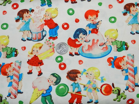 Retro Candy Shop Kids - 18 inches x 22 inches  - H