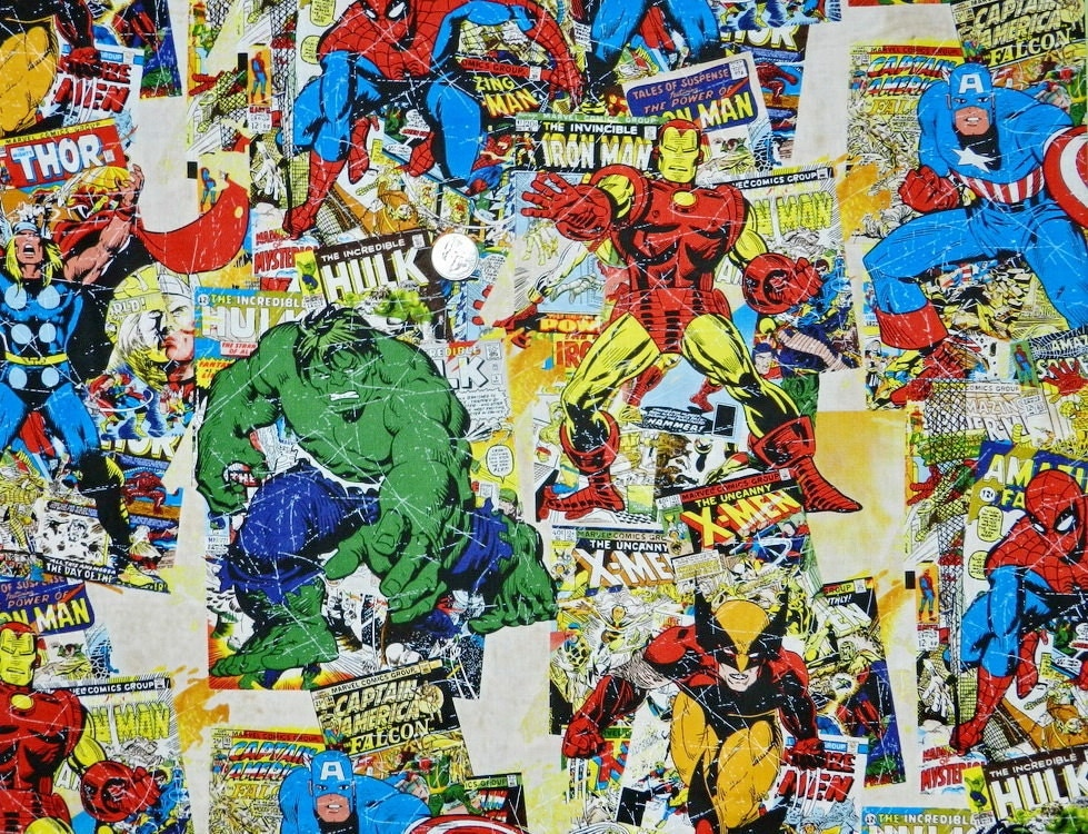Comic Book Cover Material : Last piece marvel comic book covers inches