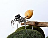 The Seedbug--Miniature Wire Sculpture