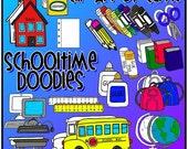 School Time Doodles