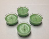 Fresh Cut Grass Scented Tea Light  Candles