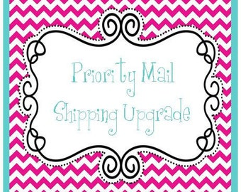 Priority Mail Shipping Option Upgrade Preppychick