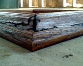 Handmade Picture Frame, Fractal Burn Design