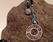 Handmade Together Lariat Necklace