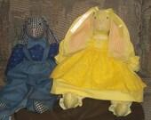 Bunny dolls, small (20 inch)