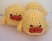 Amigurumi Little Yellow Duck Stuffed Animal