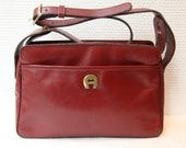 French vintage Etienne Aigner purse bag leather