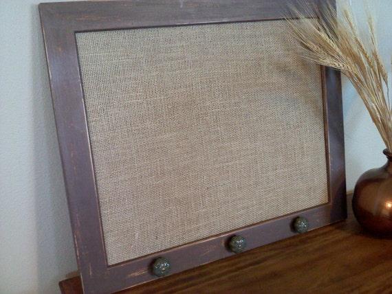 Rustic Framed Cork Board