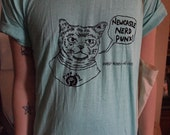 Nerd Cat - Newcastle Nerd Punx T-Shirt (new colours)