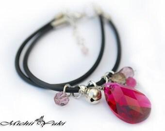 Serah Farron Bracelet Final Fantasy 13 - Swarovski Crystal
