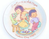 1984 Vintage Mother's Day Collectible Plate