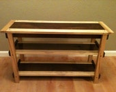 Contrasting TV Stand- Maple/Hickory/Birch