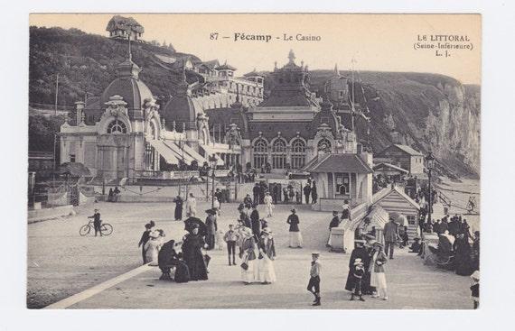 1910s Vintage Postcard: 87 - Fecamp - Le Casino