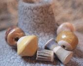 Handmade Ceramic Beads set 2