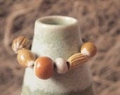 Handmade Ceramic Beads set 5