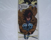"X-Men Decoupage Bookmark with Gambit 2""x6"""