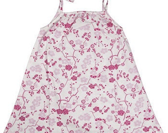 Night dress Alphonsine in coton Japanese design