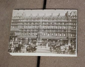 London Sights Postcard Journal