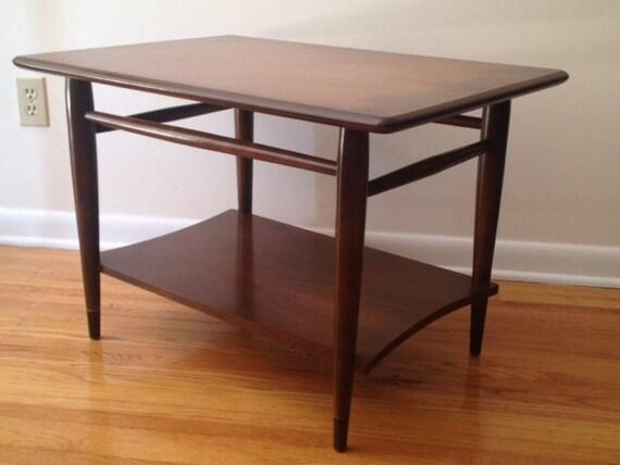 Mid Century Modern Walnut Side Table