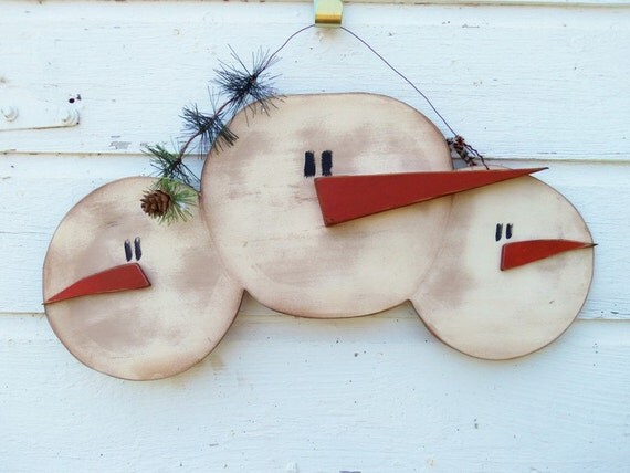 Unavailable listing on etsy for Snowman faces for crafts