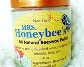 Mrs. Honeybee's All-Natural Beeswax Polish