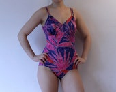glamorous 70s vintage bathing suit size small medium
