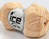 Ice Yarns Soft Cotton Blend Light Orange Use Coupon Code welcomesale to Get  20% Discount