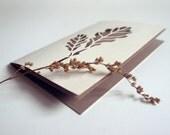 Oak tree - handmade papercut greeting card - 4 x 6 inches