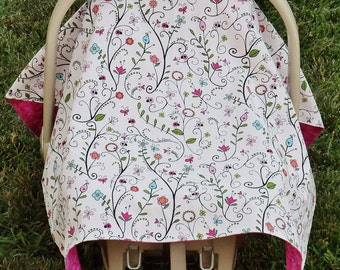 Infant Car Seat Canopy/Cover