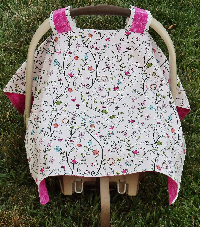 infant car seat canopy cover. Black Bedroom Furniture Sets. Home Design Ideas
