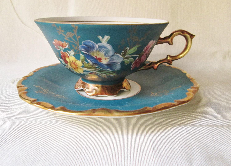 vintage teacup tea cup-#22