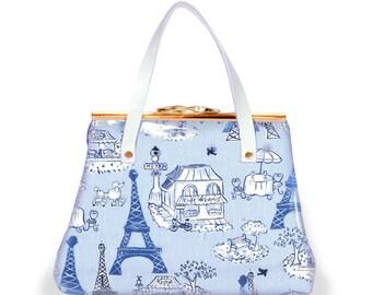 Girls Viva L' France Blue Mini Kiss
