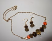 Darling & Dainty Necklace and Earrings SET