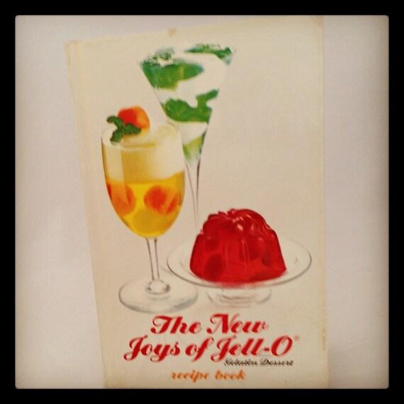 The New Joys of Jello 1970's Recipe Cookbook