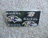 Baltimore Ravens Checkbook Cover Holder NFL