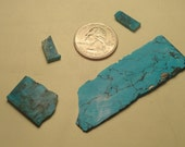 Lot of 4 Turquoise Slices