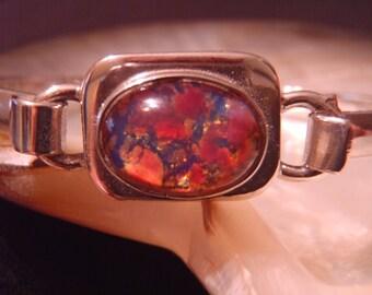 Sterling silver taxco bracelet