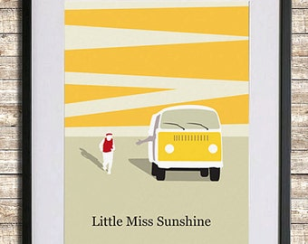 Little Miss Sunshine Poster Print