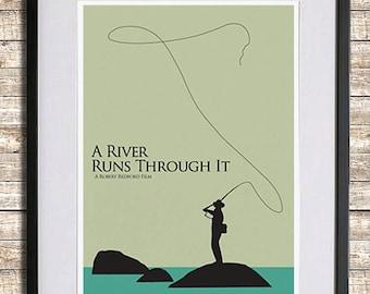A River Runs Through It Poster Print